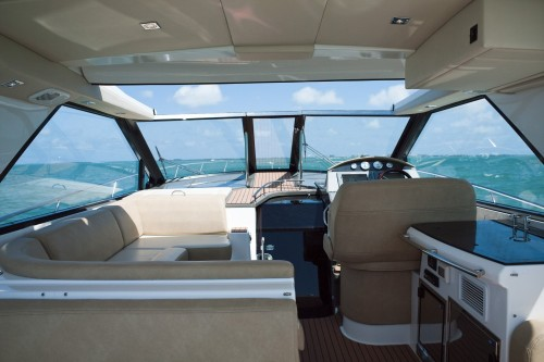 46' Regal Boat Outside Seating
