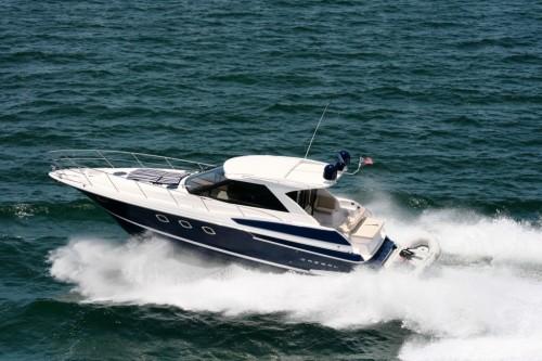 46' Regal Boat at Sea