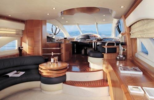55 Azimut Yacht Saloon