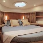 55' Azimut Yacht VIP Stateroom