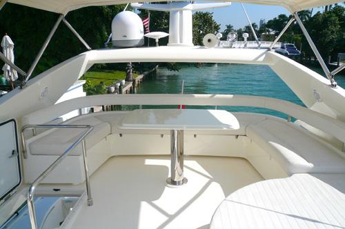 59' Ferreti Yacht Flybride