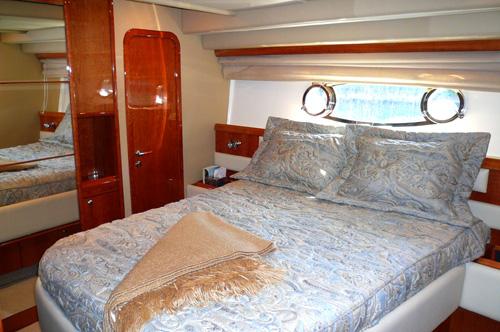 59' Ferreti Yacht Master Suite