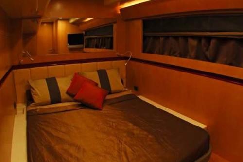 65' Luxury Catamaran Yacht Lounge Area Master Suite