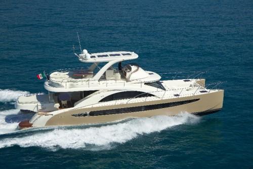 65' Luxury Catamaran Yacht Exterior