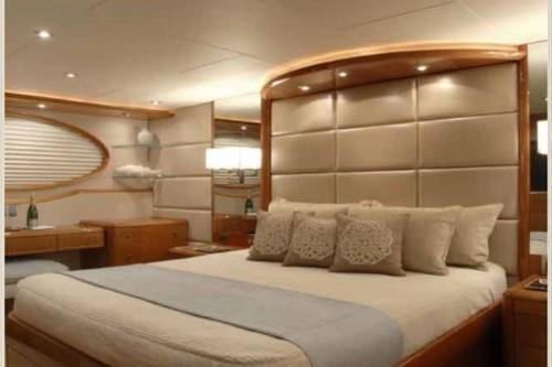 84' Lazzara Yacht Master Stateroom 2