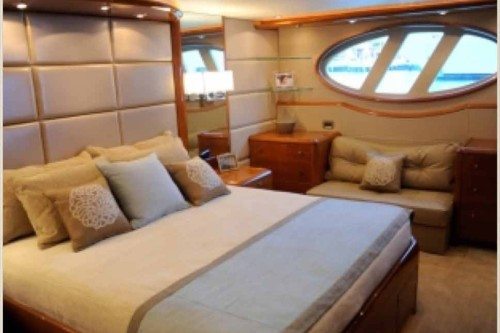 84' Lazzara Yacht Master Stateroom