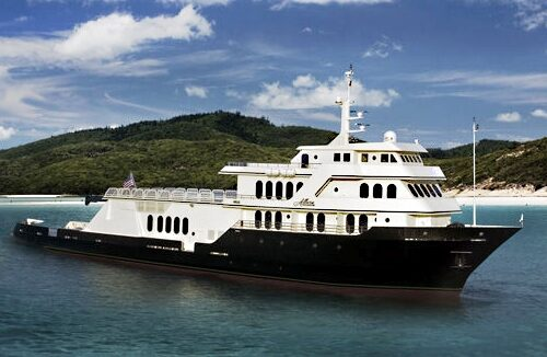 220' Allure Mega Yacht Main Profile
