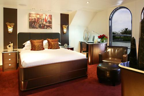 220' Allure Mega Yacht Master Cabin