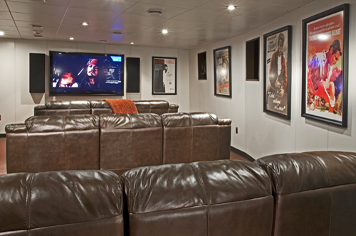 220' Allure Mega Yacht Movie Theatre