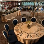BL Party Boat Charter Dining Area