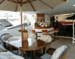 124' Impusive Yacht Aft Deck