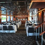 111 Sun Party Boat Mid Dining Area
