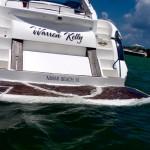 50' Sunseeker Yacht Swim Platform