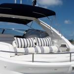 50' Sunseeker Yacht Sun Pads