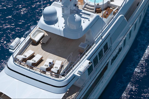 147' Feadship Yacht Fly Bridge
