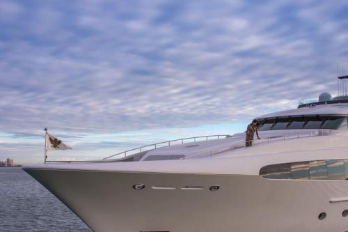 154' Yacht Charter Delta Exterior
