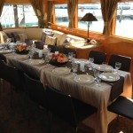 SL Party Boat Dining Area
