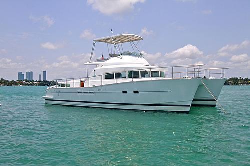 43' Rendevous aboat Catamaran Port