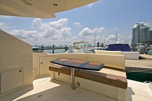 43' Marquis Boat Stern