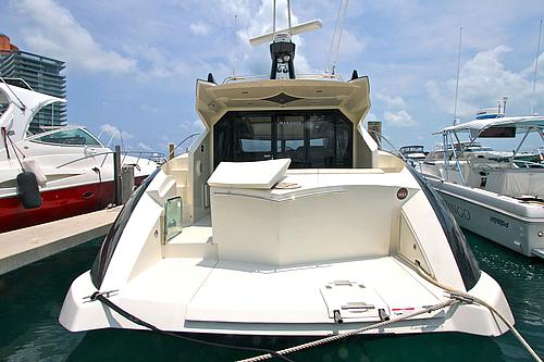 43' Marquis Boat Aft Deck