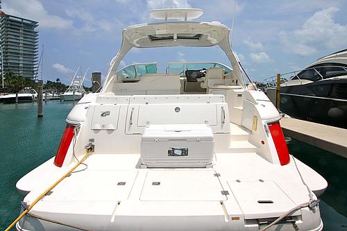 46' Cruisers Boat Deck