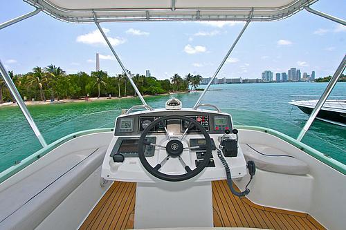 43' Rendevous Boat Upper Helm