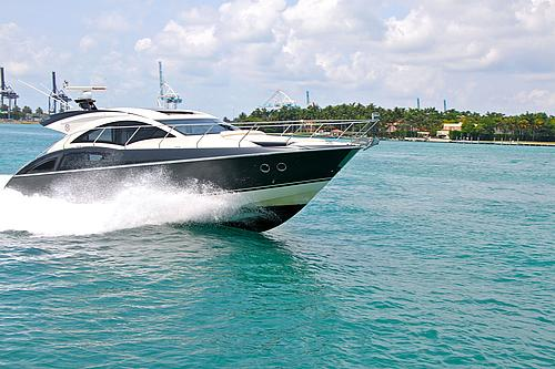 43' Marquis Boat at Sea