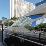 84' Azimut Yacht Port Side