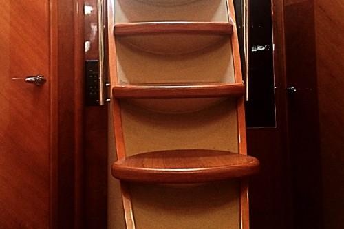 65 Sunseeker Princess Interior Stairway