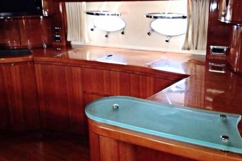 65 Sunseeker Princess Miami Boat Interior
