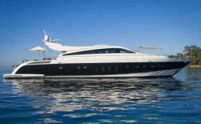 106 Leopard Yacht Charter Exterior