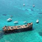 Yacht Charter to Bimini Shipwreck