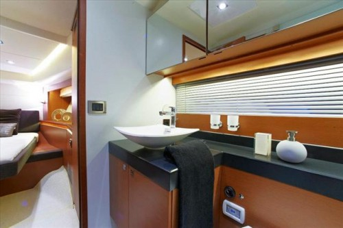 55 Prestige Yacht Rental Head