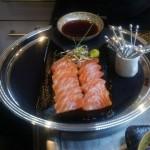 Gourmet Food Sample - Salmon Sashimi