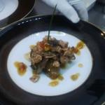 Gourmet Food Sample - Steak Frois Gras