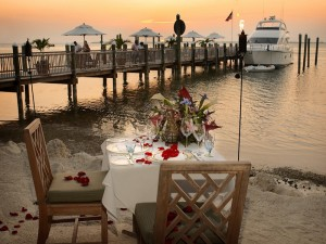 Little Palm Island by Yacht Charter