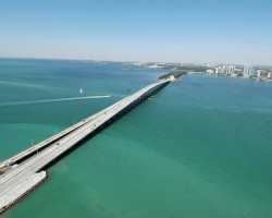 Rickenbacker Causeway to Key Biscayne