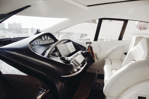70' Sunseeker Predator Yacht Helm