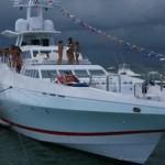 122' Oceanfast Yacht Bow