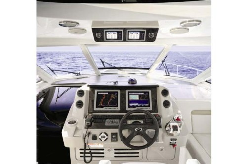 54' Sea Ray Yacht Helm
