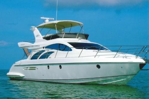 50' Azimut Yacht Exterior