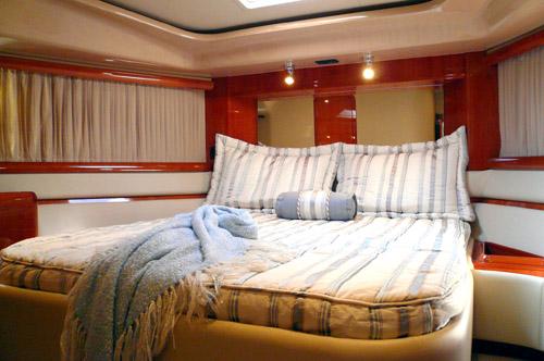 59' Ferreti Yacht VIP Suite