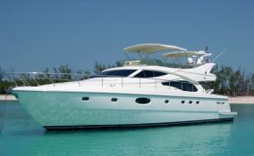 59' Ferretti Yacht Exterior