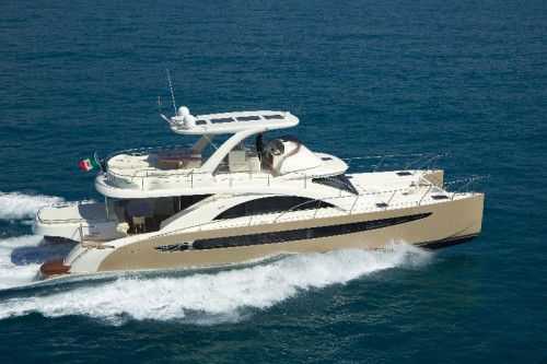 65' Luxury Catamaran Yacht Exterior
