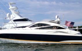 68' Sunseeker Docked