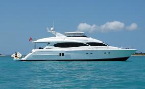80' Lazzara Yacht