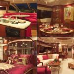 80' Lazzara yacht Interior