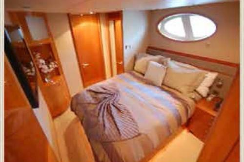 84' Lazzara Yacht VIP Stateroom