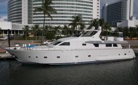 95' Elegance Docked