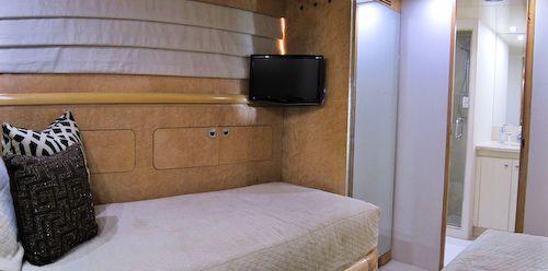 95' Elegance Yacht Guest Suite